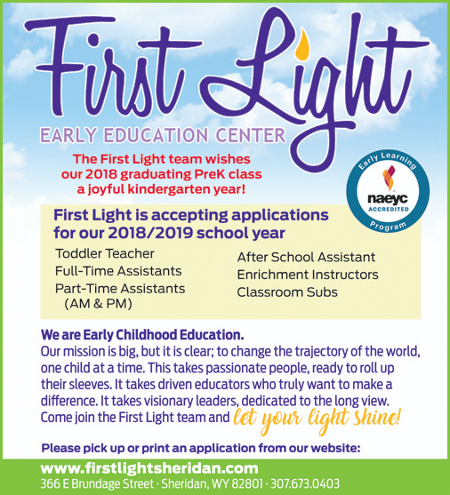 First Light Early Education Center Sheridan Wyoming